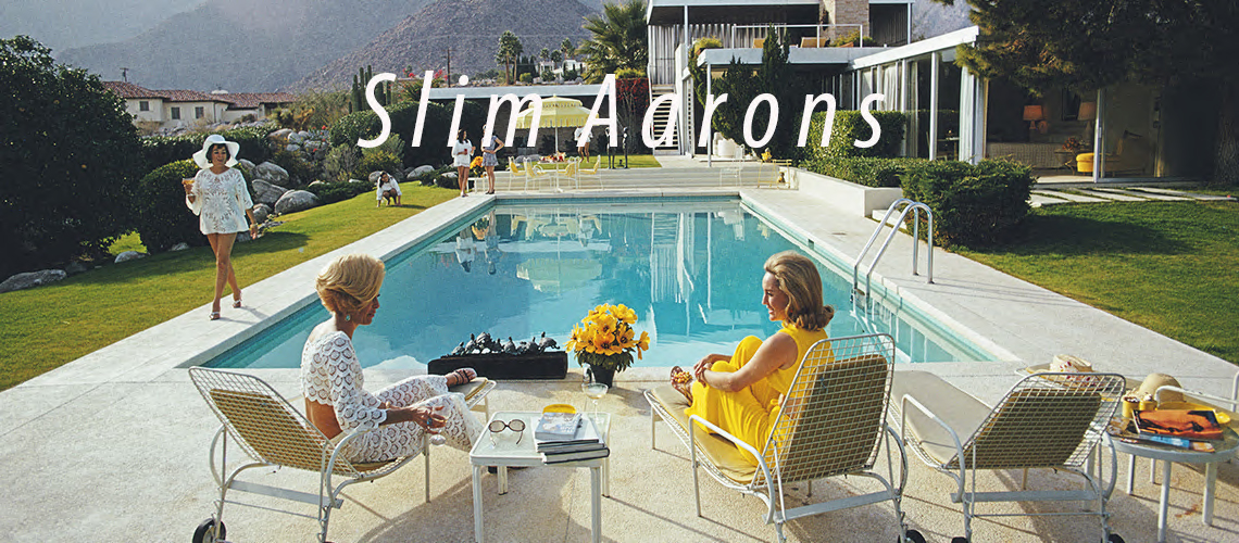 Poolside Gossip Slim Aarons The Slim Aarons Collection offcial certified prints