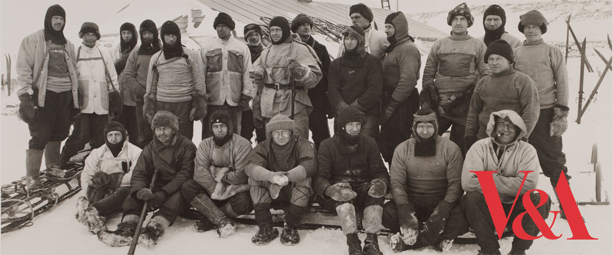Scott's Last Expedition, Scott's Expedition Team, British Antarctic Expedition, South Pole, Herbert George Ponting (1870-1935), 1910-13 © Victoria and Albert Museum, London
