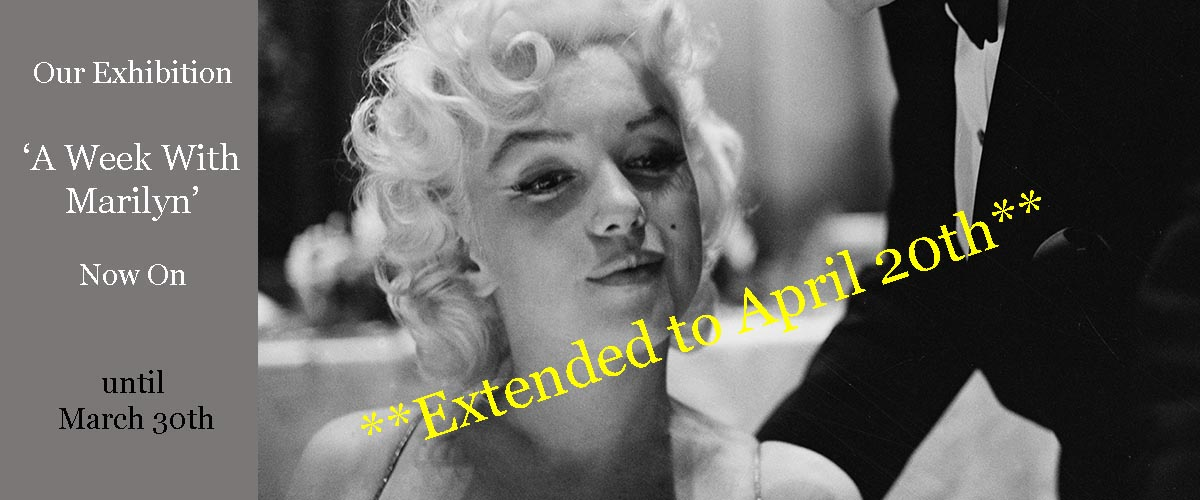 A Week With Marilyn London exhibition Marilyn Monroe at Galerie Prints Wimbeldon Park now on until March 30th featuring candid, never before exhibited images of the star and icon. Photography by Ed Feingersh.