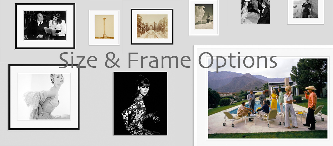 "Frames and framing offered. Bespoke Sizes  We have listed the most popular sizes on our site for your convenience.  However – we also offer completely bespoke sizes also –  from Paper Size 20×16"" inches / approx. 40 x 51 cm's to  30 x 20"" inches / approx. 51 x 76 cm's –  and even Super Size Paper Sizes of 72 x 48"" inches / 183 x 122 cm's  and everything in between –  and are happy to adjust a particular photograph,  frame or Perspex size to fit your particular requirements.  Simply contact us to discuss.  Framing  We offer 2 types of framing on our site for simplicity's sake.  Traditional Classic Black Wood Frame with white mount or  a Classic White Wood Frame with white mount board.  Note that the framing we offer is high quality  bespoke framing and hand-made – per print ordered.  If you require a different type of frame than is offered,  please contact us to discuss,  as we are able to satisfy virtually any framing requirement as a Bespoke Service."
