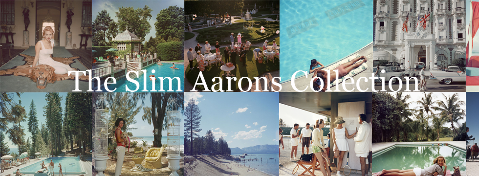 The Slim Aarons Prints Collection with over 900 Slim Aarons images to choose from by Galerie Prints.