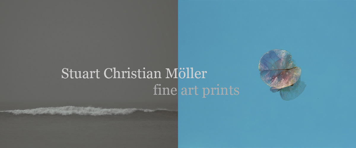 Stuart Christian Möller fine art photography prints, seascapes landscapes and still life.