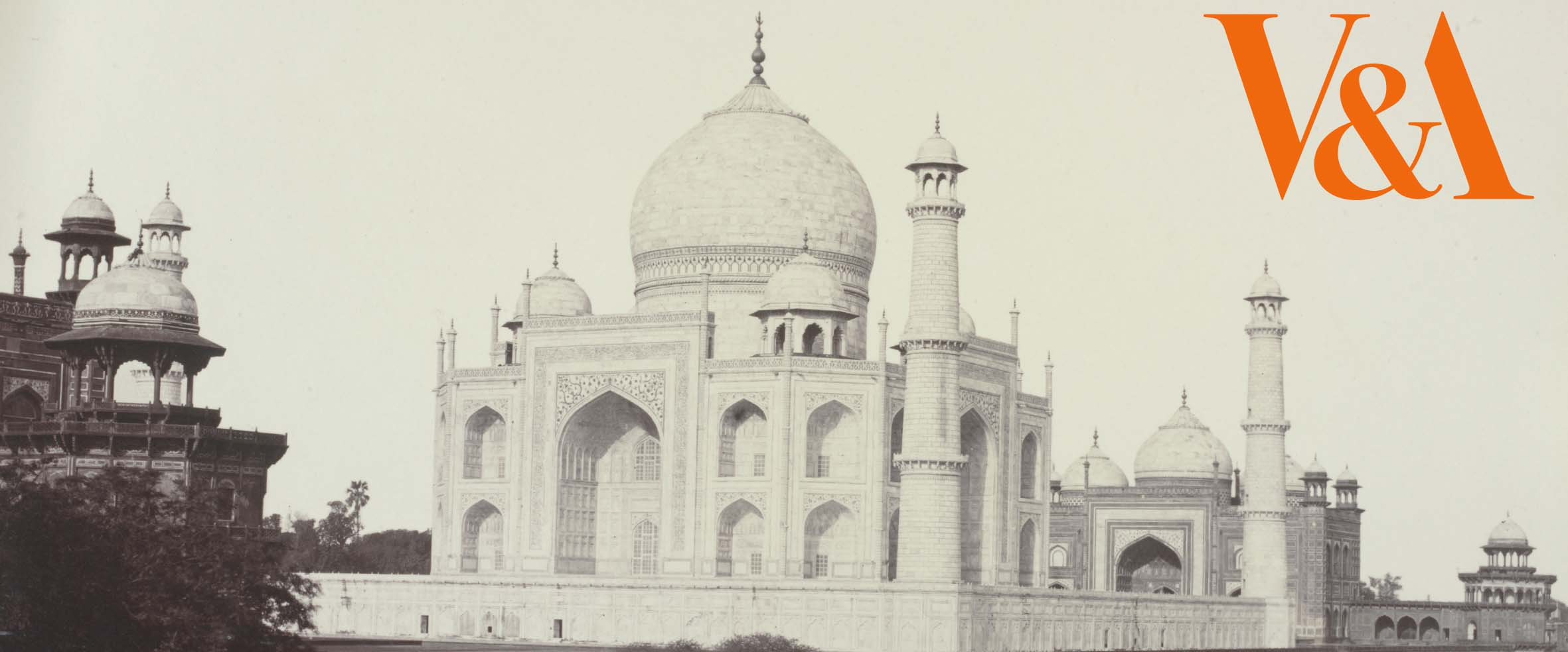 The Taj Mahal from the river, Agra, Shepherd & Robertson, India, 1862-63 © Victoria and Albert Museum, London