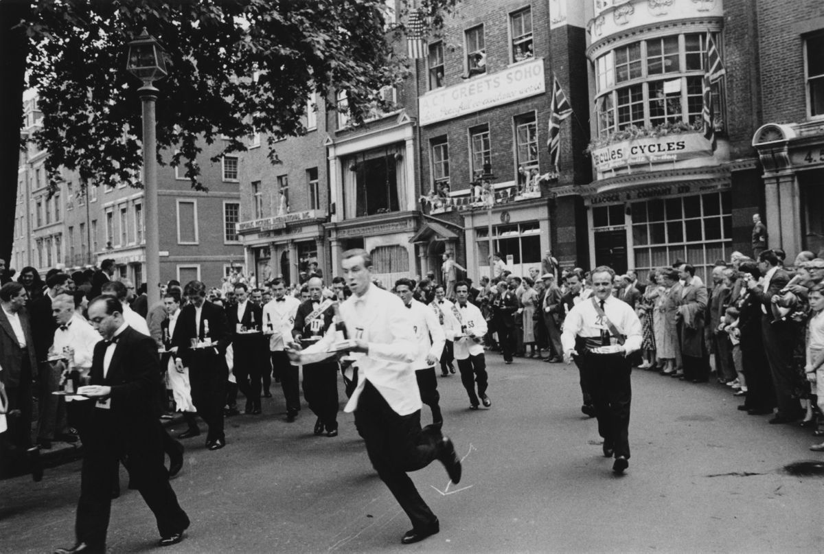 Soho Waiters Race