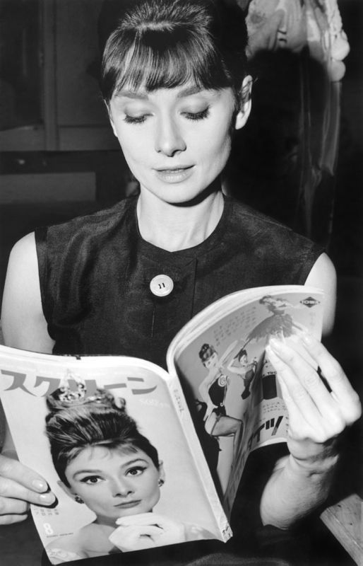 Audrey Reading Audrey