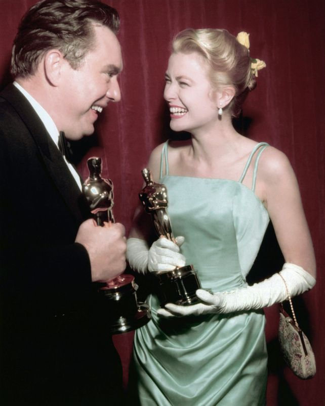Award Winning Edmond O'Brien & Grace Kelly
