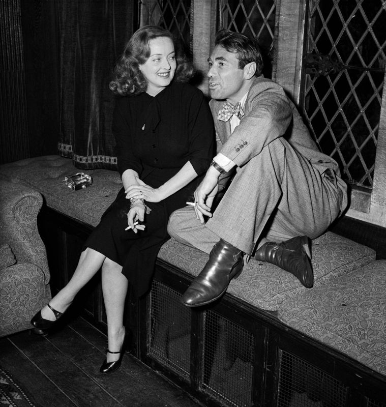 Bette Davis With Her Husband