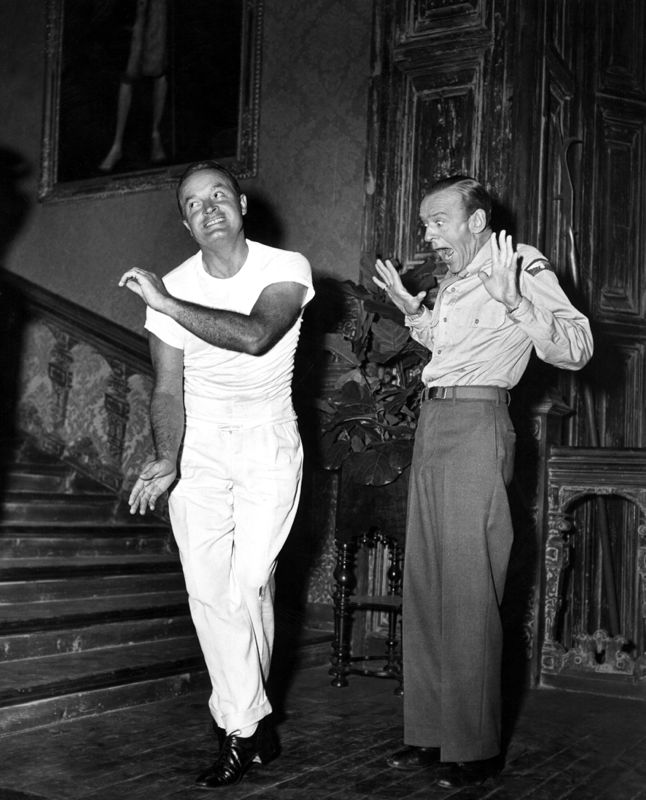 Bob Hope & Fred Astaire Dance Around