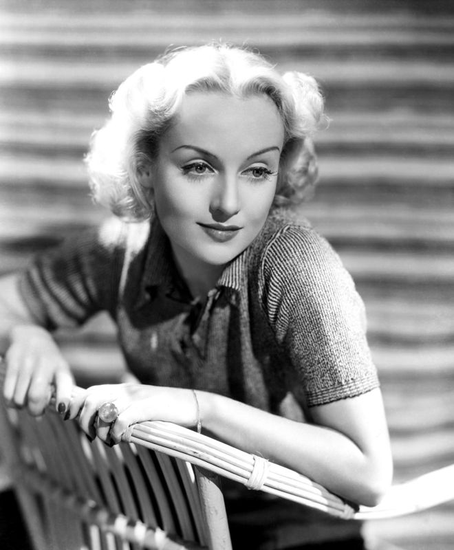 Carole Lombard Smiling Sweetly