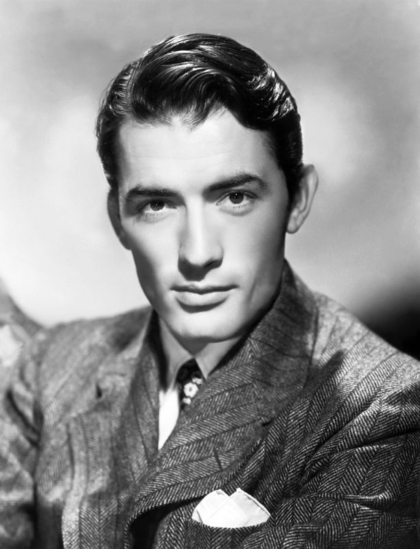 Dashing Gregory Peck