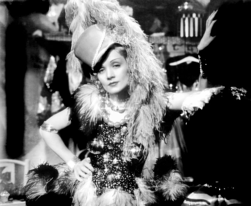 Dietrich In Blonde Venus