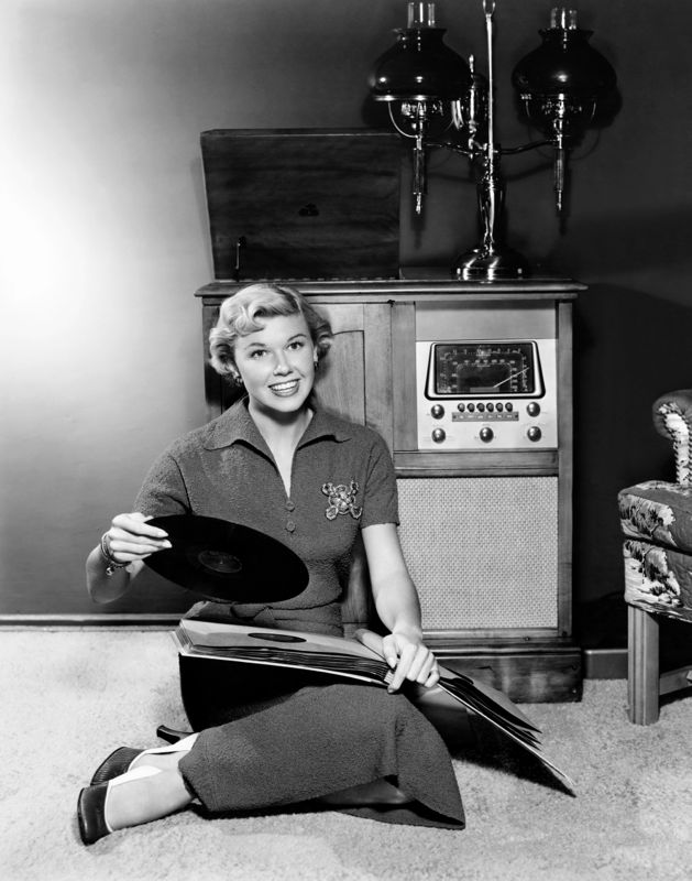 Doris Day And Her Record Collection