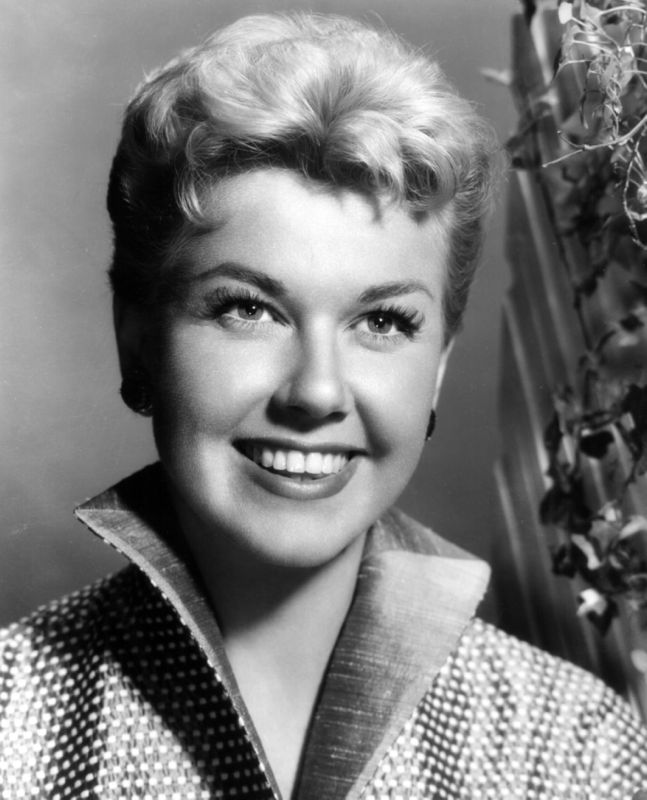 Doris Day Cheerful Portrait
