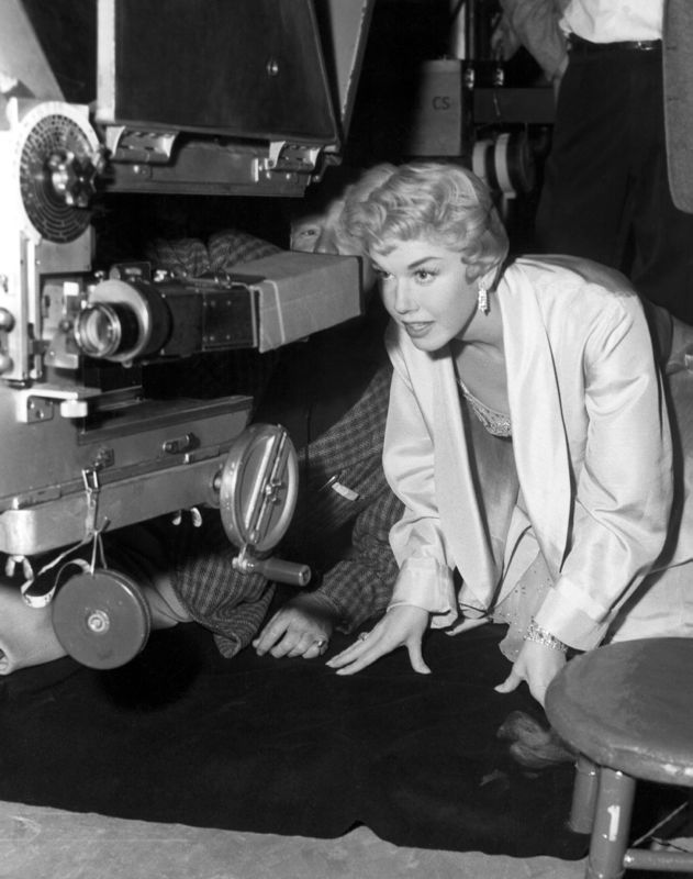 Doris Day Filming Love Me Or Leave Me