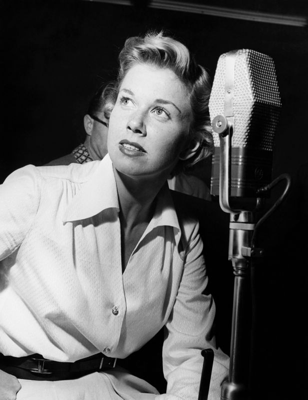 Doris Day In The Recording Studio