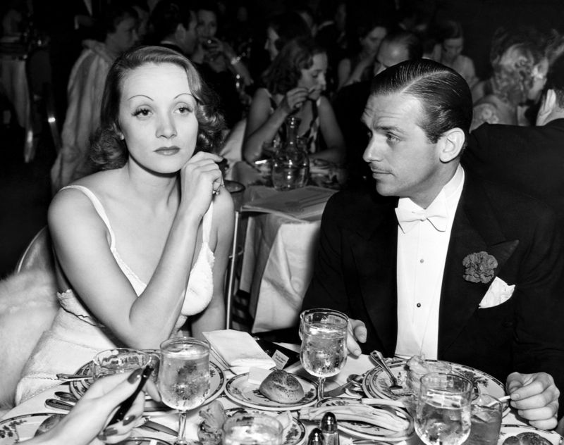 Douglas Fairbanks Jr. & Marlene Dietrich At The Actors Guild Party