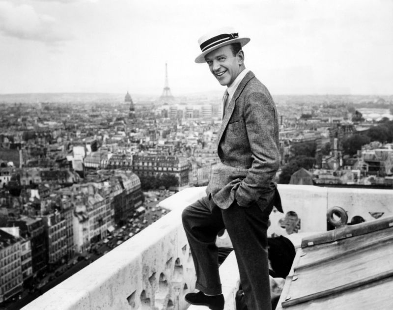 Fred Astaire & The Parisian Skyline