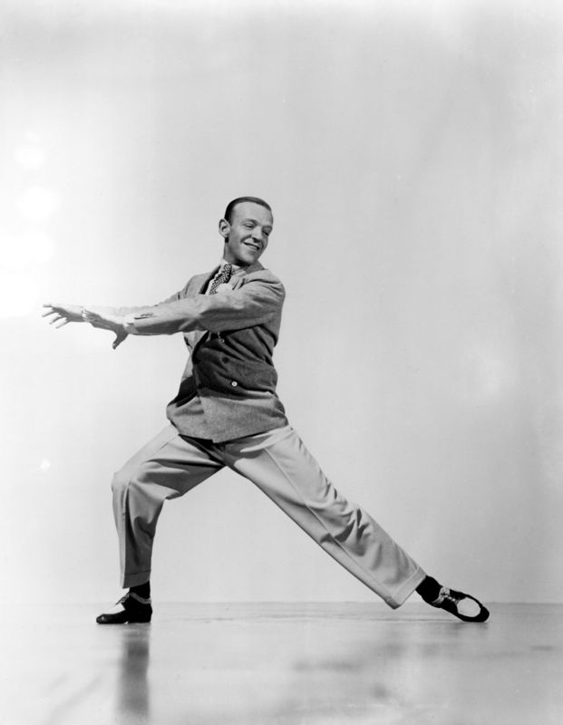 Fred Astaire Mid Dance Routine