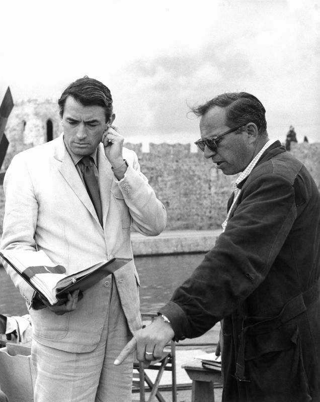 Gregory Peck & Carl Foreman