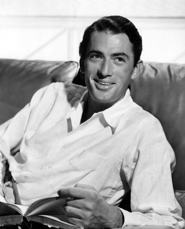 Gregory Peck Dapperly Dressed