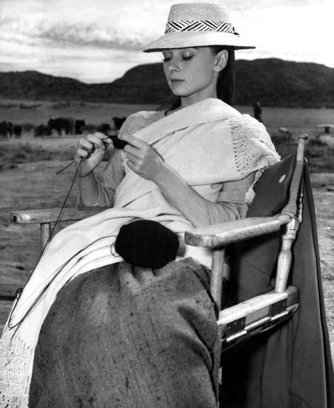 Hepburn Knitting In Mexico