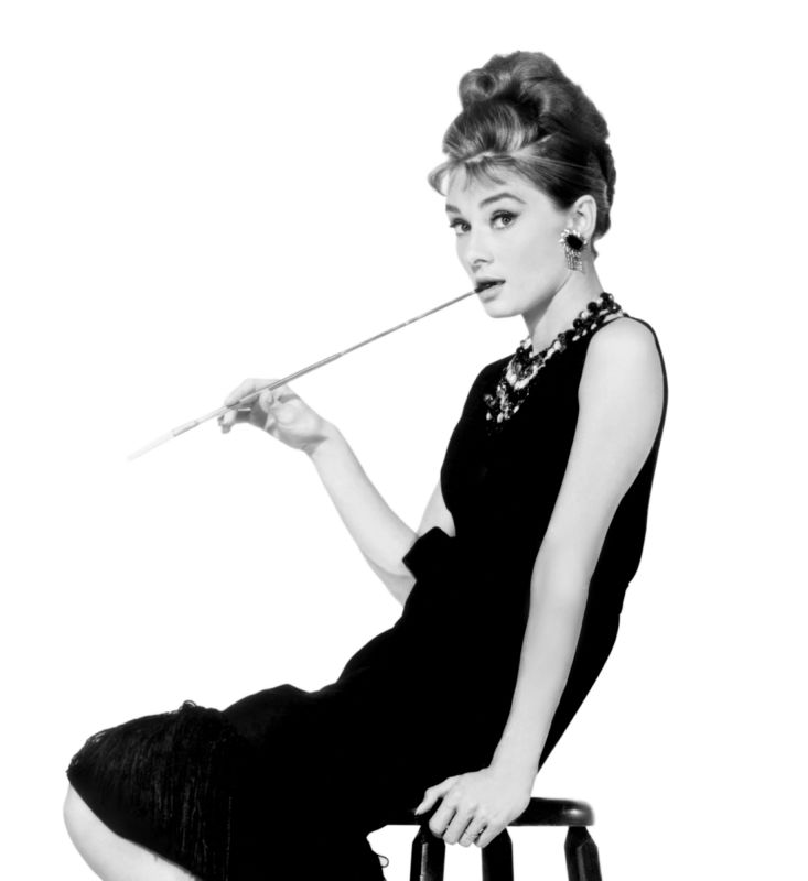 Hepburn At Tiffanys