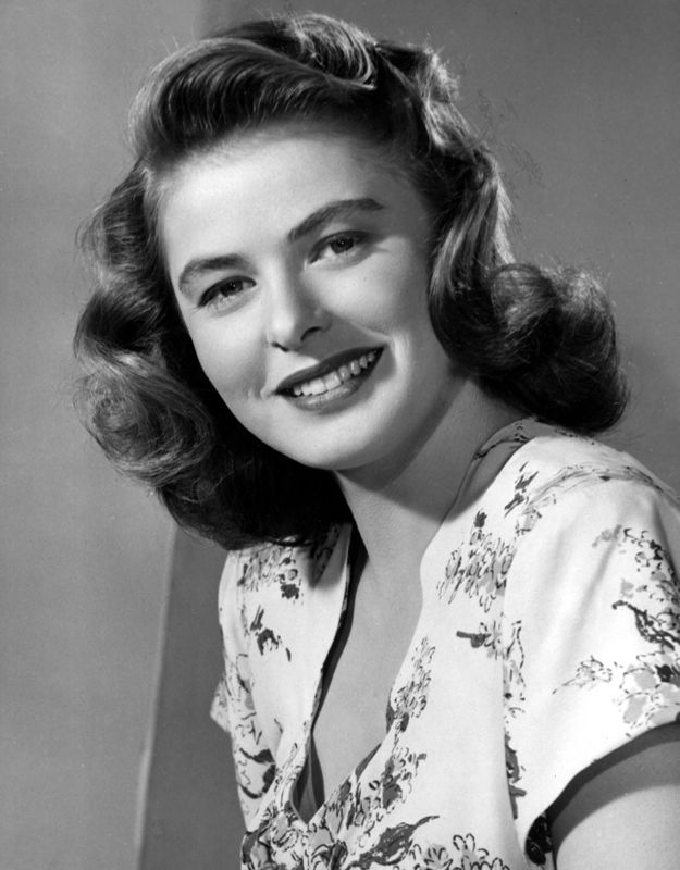 Ingrid Bergman Portrait Shoot