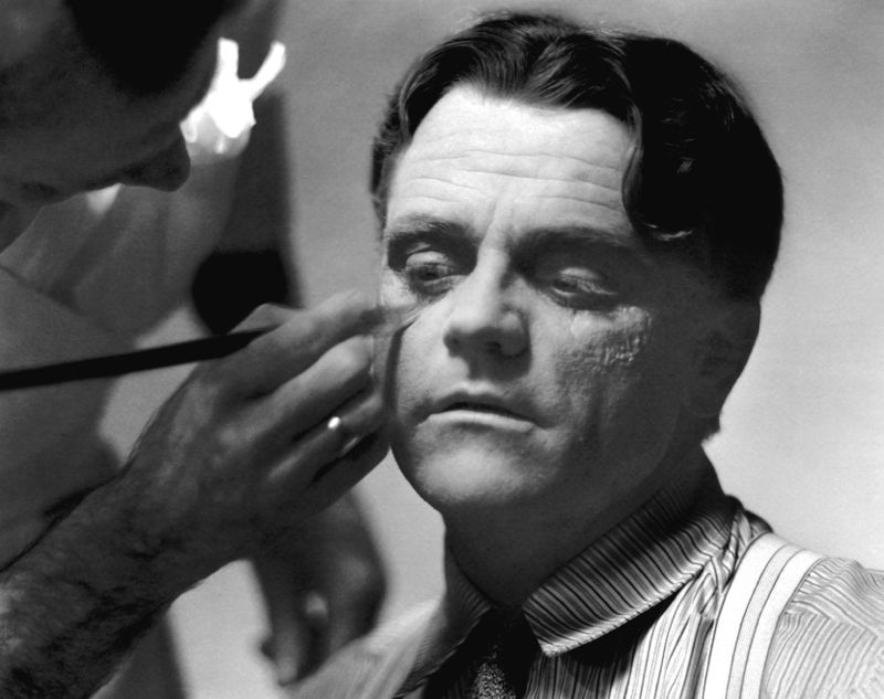 James Cagney & Makeup Artist Perc Westmore
