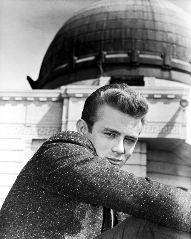 James Dean Filming Rebel Without A Cause