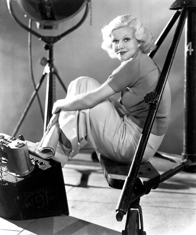 Jean Harlow Photo Shoot