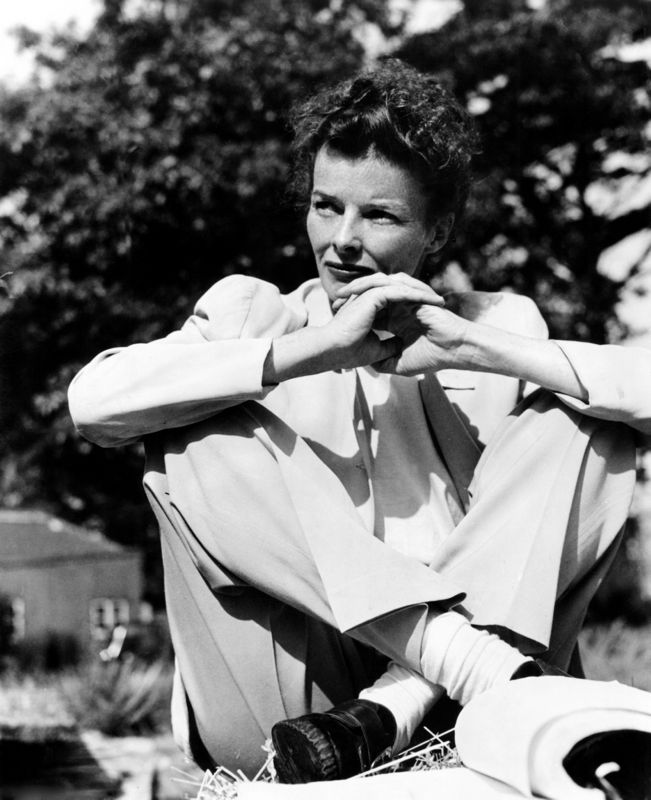 Katherine Hepburn In The African Queen