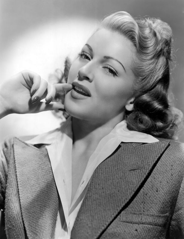 Lana Turner Portrait Photo