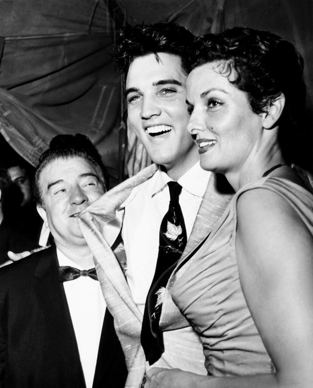 Lou Costello, Elvis Presley & Jane Russell