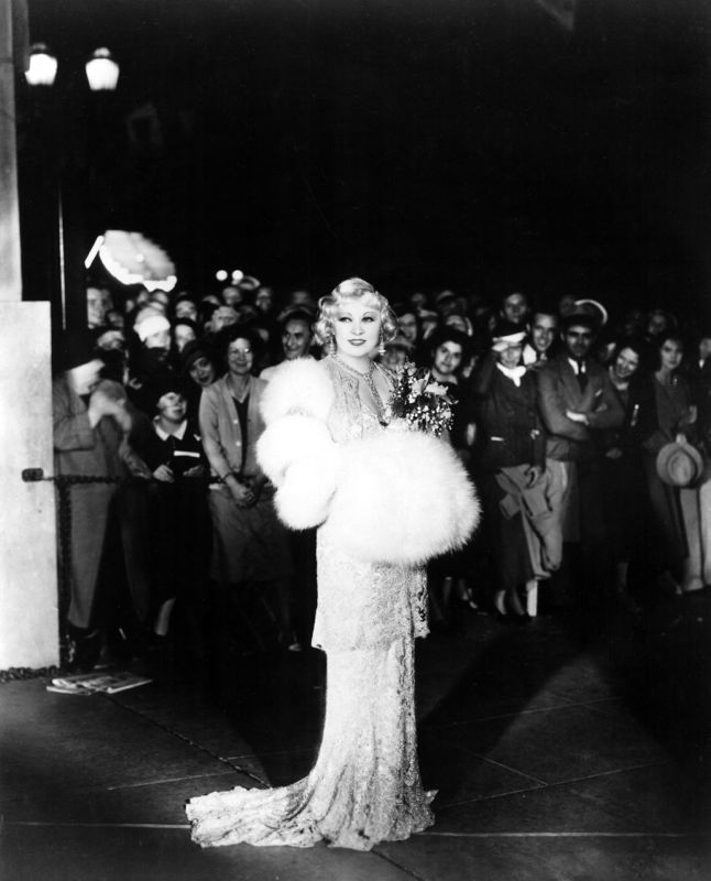Mae West On The Red Carpet