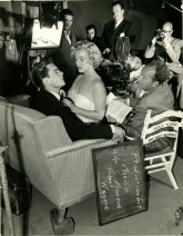 Marilyn Monroe On Set Screen Test