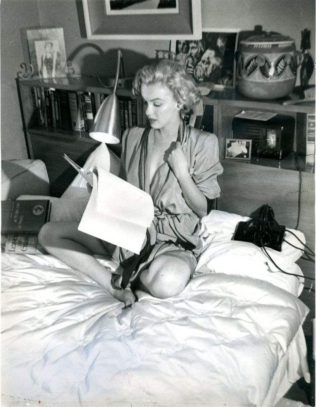 Marilyn Monroe Script Reading