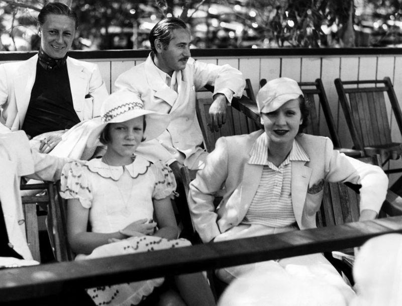 Marlene Dietrich & Friends At Charity Polo Event