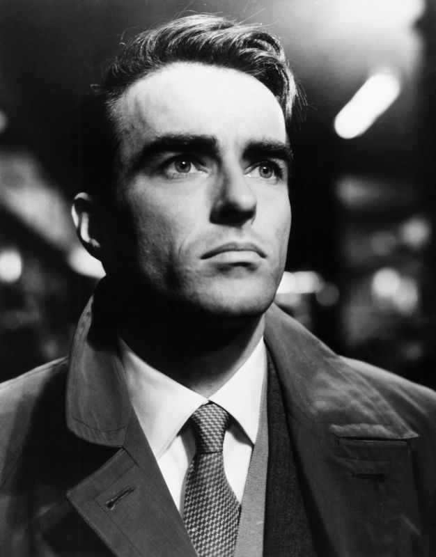 Montgomery Clift In Scene