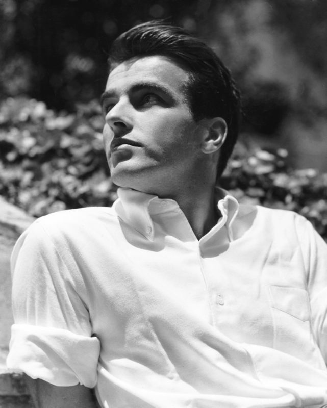 Montgomery Clift In The Summer Sun