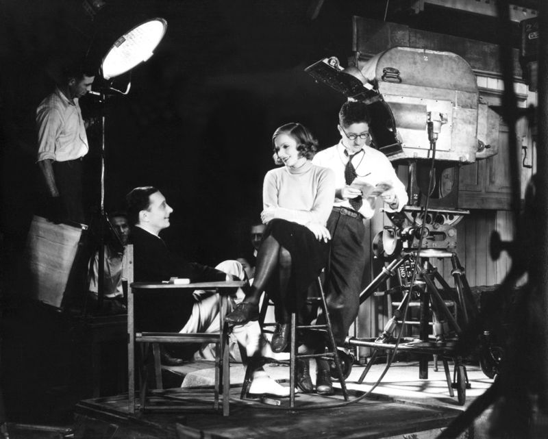 On The Set Of Anna Christie