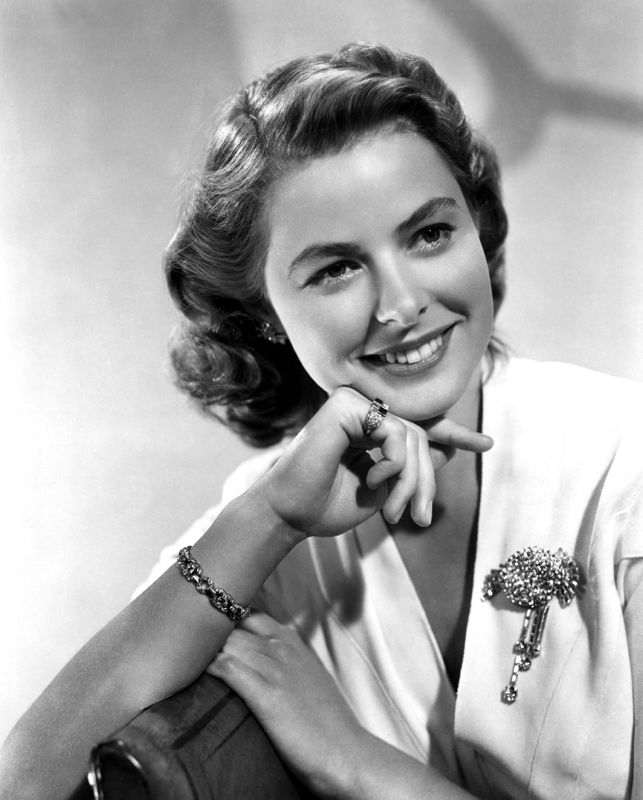 Photographic Portrait, Ingrid Bergman