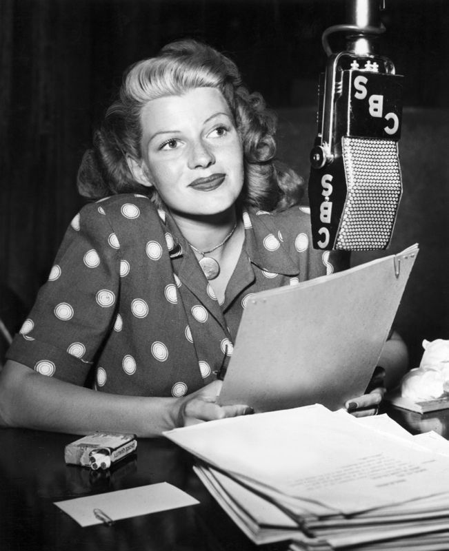 Rita Hayworth At Lux Radio Theatre