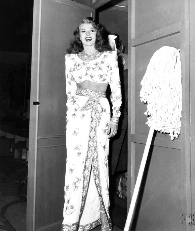 Rita Hayworth In A Jean Louis Gown