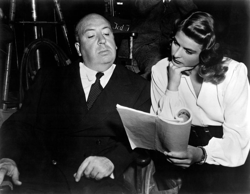 Script Reading, Bergman & Hitchcock