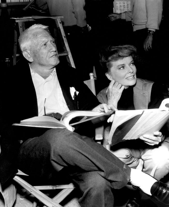 Spencer Tracy & Katharine Hepburn Script Reading