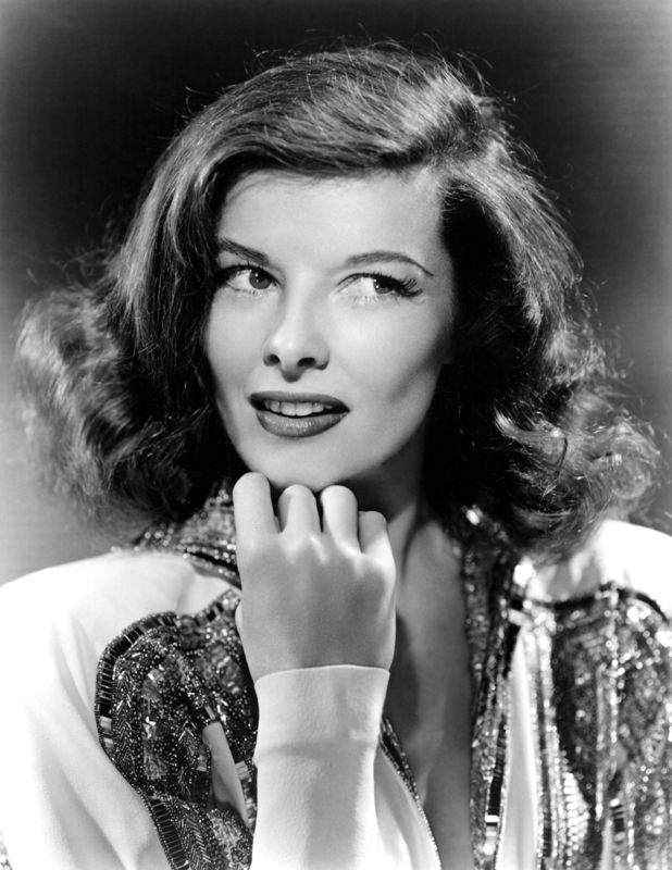 Striking Katherine Hepburn Portrait
