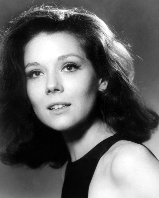 Young Diana Rigg