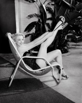 Marilyn Gets Her Shoe On