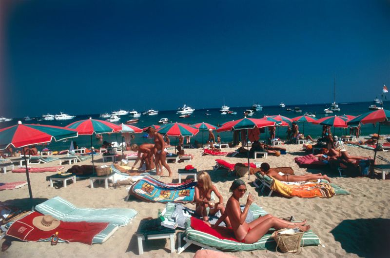 Beach At St. Tropez