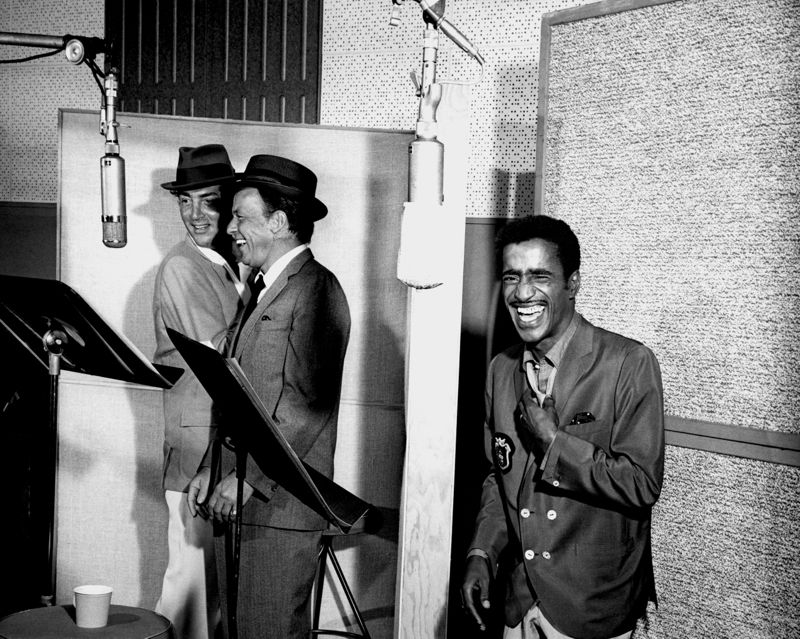 Rat Pack Recording Session